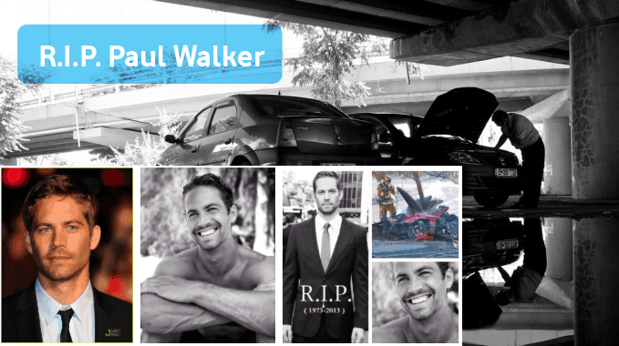 Fast and Furious Star 'Paul Walker' Dies in Car Accident