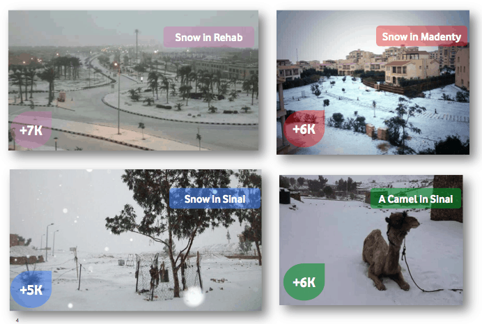 snow in egypt photos 1