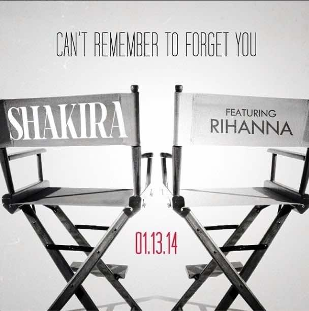 Rihanna Shakira - CAN'T REMEMBER TO FORGET YOU