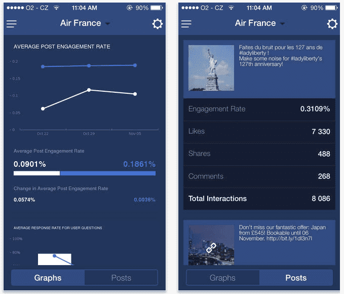 Socialbakers Reports on the App Store on iTunes - digital boom