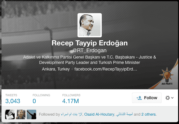Erdogan verified