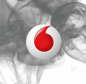 vodafone logo, digital boom, vodafone egypt social media