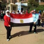 Twitter Photos Egyptian youth voting and celebrating