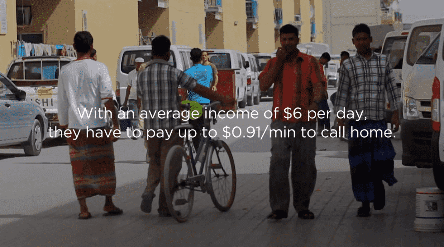 Call Verses Wages in Dubai