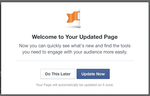 Facebook Launches New 'Page' Layout 2014