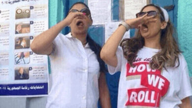 Photos Egyptian youth are voting and celebrating
