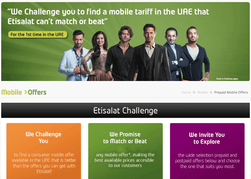 Etisalat UAE Challenge, etisalatchallenge, Etisalat UAE loses Its own challenge, campaign backfires online
