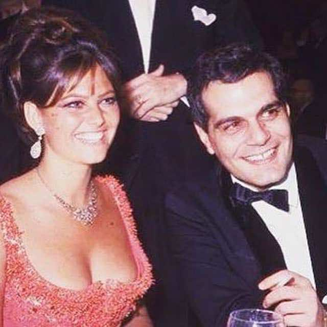 Omar Sharif: Precious Moments in Pictures, digital boom, Claudia Cardinale, Omar Sharif