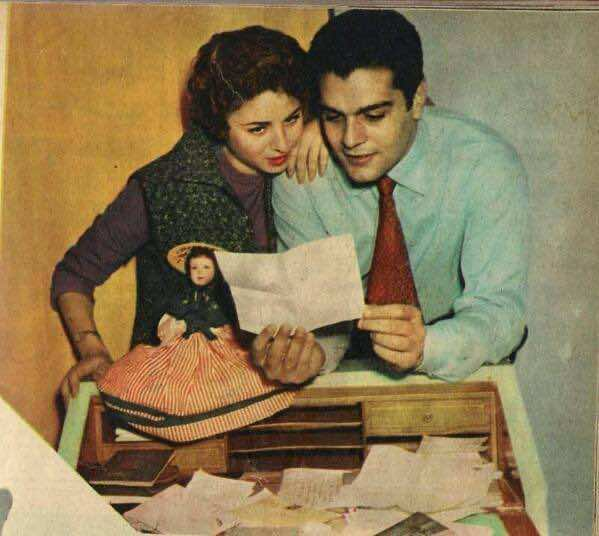 Omar Sharif: Precious Moments in Pictures, omar sharif, faten hamama