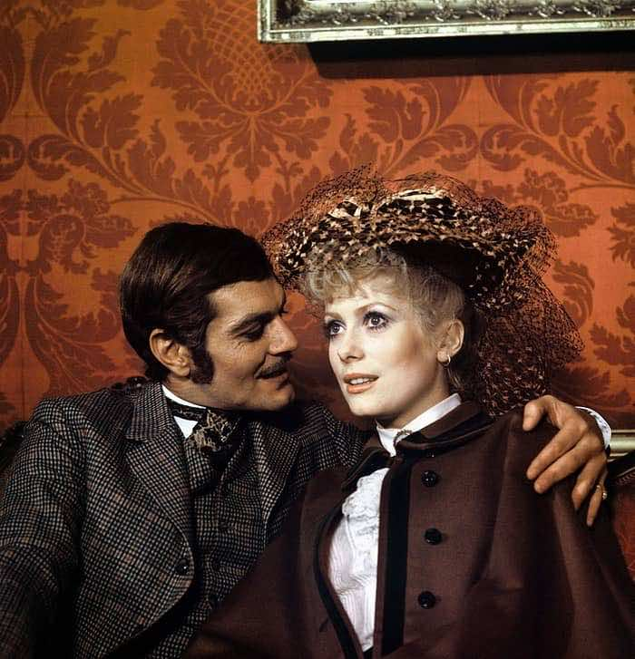 Omar Sharif: Precious Moments in Pictures, Omar Sharif with Catherine Deneuve in Mayerling, 1968