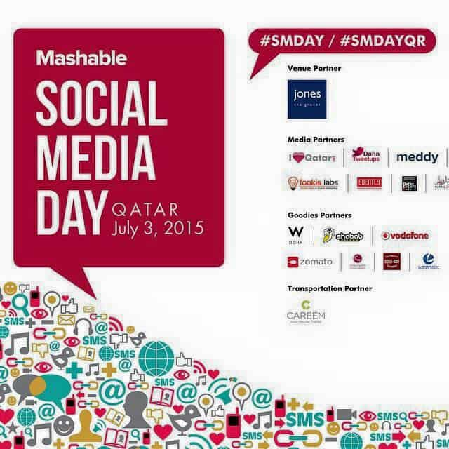 Mashable Social Media Day , SMDay Qatar, Social Media Day Qatar, Qatar social media, SMDayQR