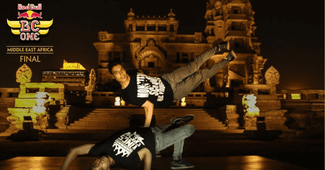 red bull bc one, red bull, digital boom, cairo break dance, baron palace