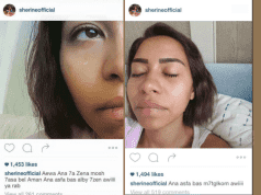 sherine abdel wahab, sherine, egyptian sherine, sherine instagram, tearful photos instagram, digital boom