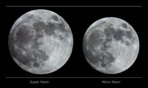 Supermoon vs. Normal Moon