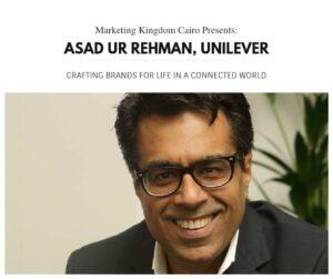 digital boom, mkcairo, marketing kingdom cairo 2015, Asad ur Rehman, uniliver