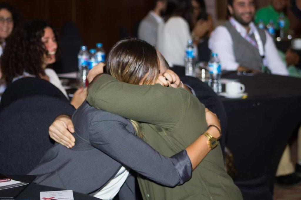 Marketing Kingdom speaker makes marriage proposal on stage, Hussein Dajani Marketing Kingdom Cairo, marriage, digital boom