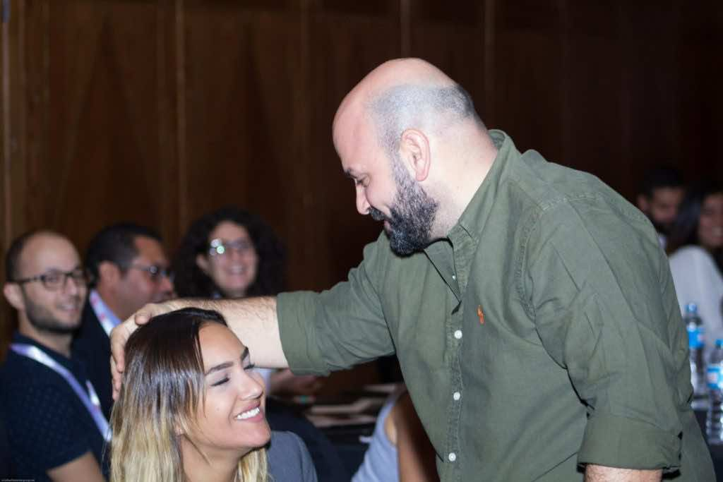Marketing Kingdom speaker makes marriage proposal on stage, Hussein Dajani Marketing Kingdom Cairo, marriage, digital boom
