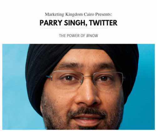 Parry singh, digital boom, mkcairo, marketing kingdom cairo 2015