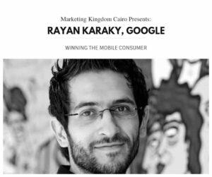Rayan Karaky, digital boom, mkcairo, marketing kingdom cairo 2015