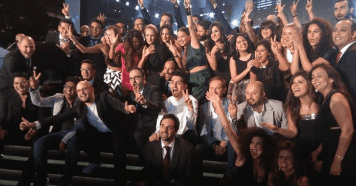 FP7 Cairo. FP7/CAI, Cairo Cristal, Agency of the year, gold award, team, digital, media, advertising, agency cairo