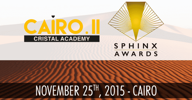 The Cairo Cristal Academy, sphinx awards, digital boom