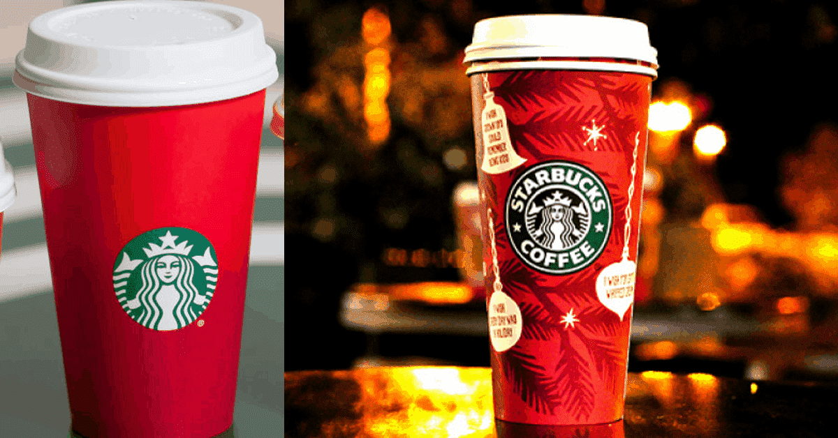 Starbucks Christmas Cups Spark Heated Controversy