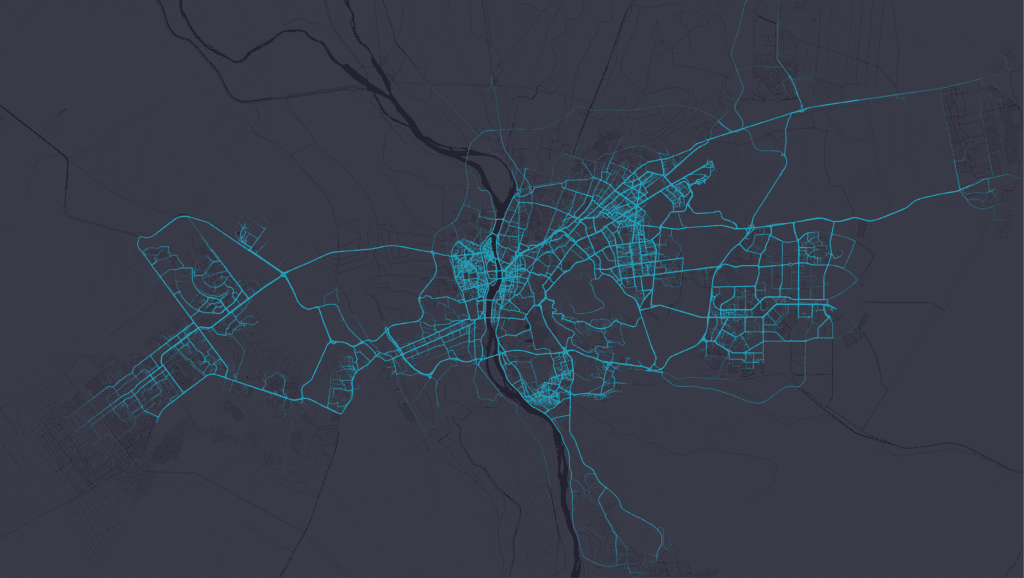 uber cairo trips on map by November 2015, uber's fastest growing city