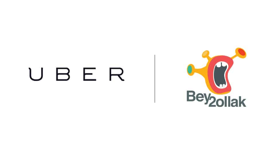 uber partners with bey2ollak, partnership uber and bey2ollak, uber, bey2ollak, cairo, marketing, advertising, digitalboom, digital boom, adigitalboom