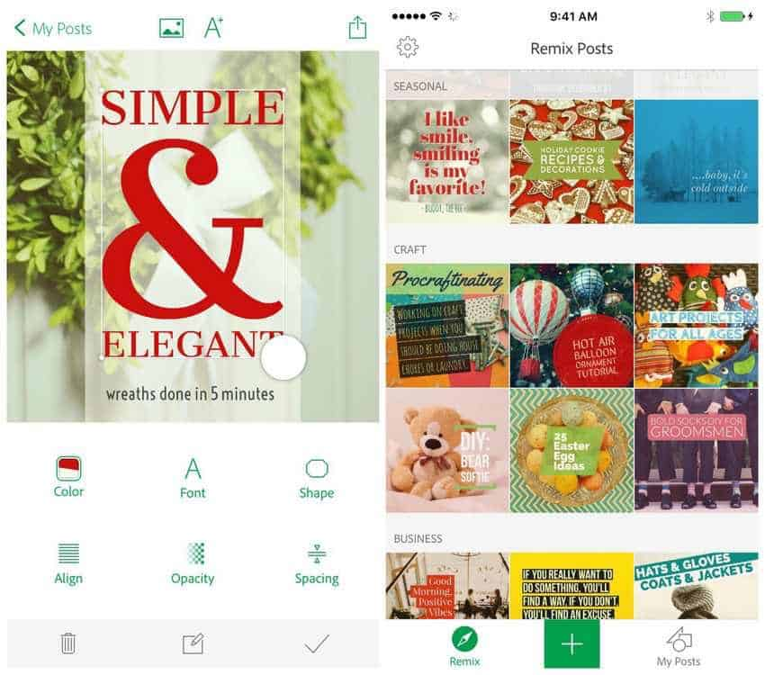 Create Stunning Social Media Designs With Adobe Post Mobile App