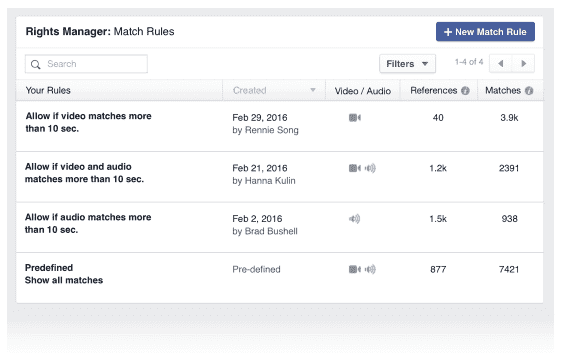 Step Three: Use Match Rules to automate your review workflow