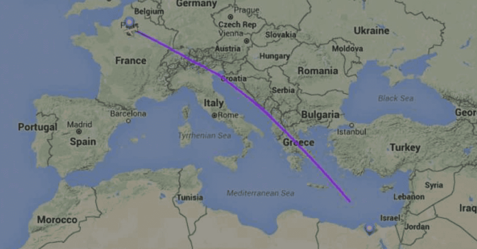 Egyptair missing plane from Paris to Cairo
