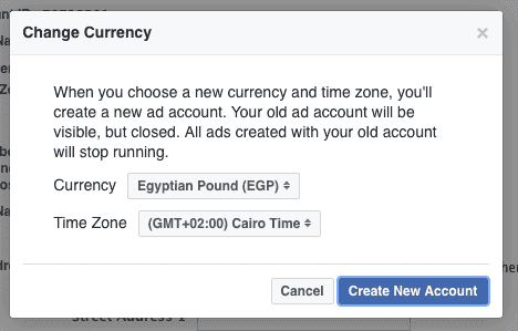 facebook, EGP, egyptian pound, facebook payment