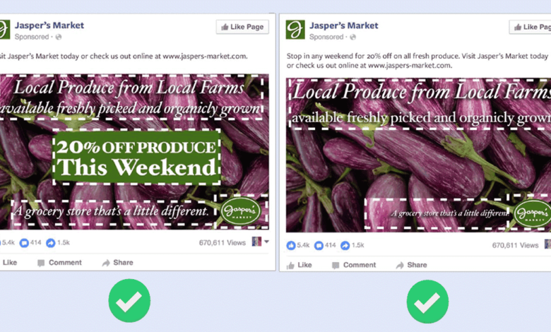 Facebook lifts 20% text overlay image restrictions globally