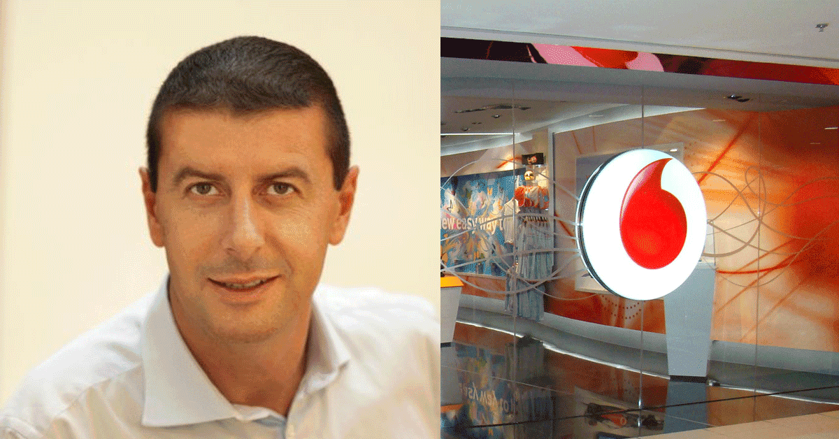 Stefano Gastaut, Vodafone Egypt names Stefano Gastaut's CEO to Replace Ahmed Essam