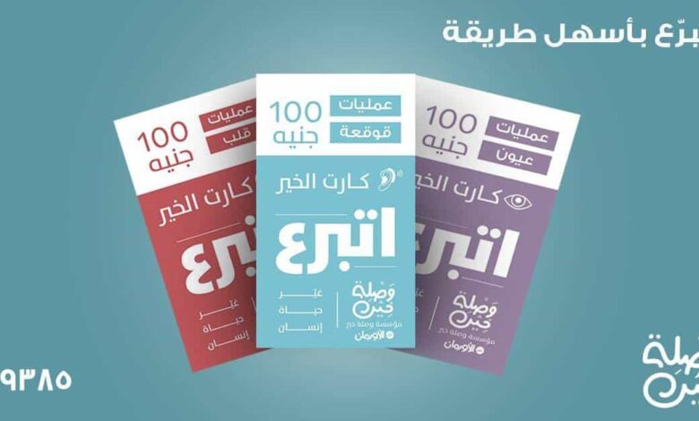 Waslet Kheir's Charity Card Helps Shoppers Donate