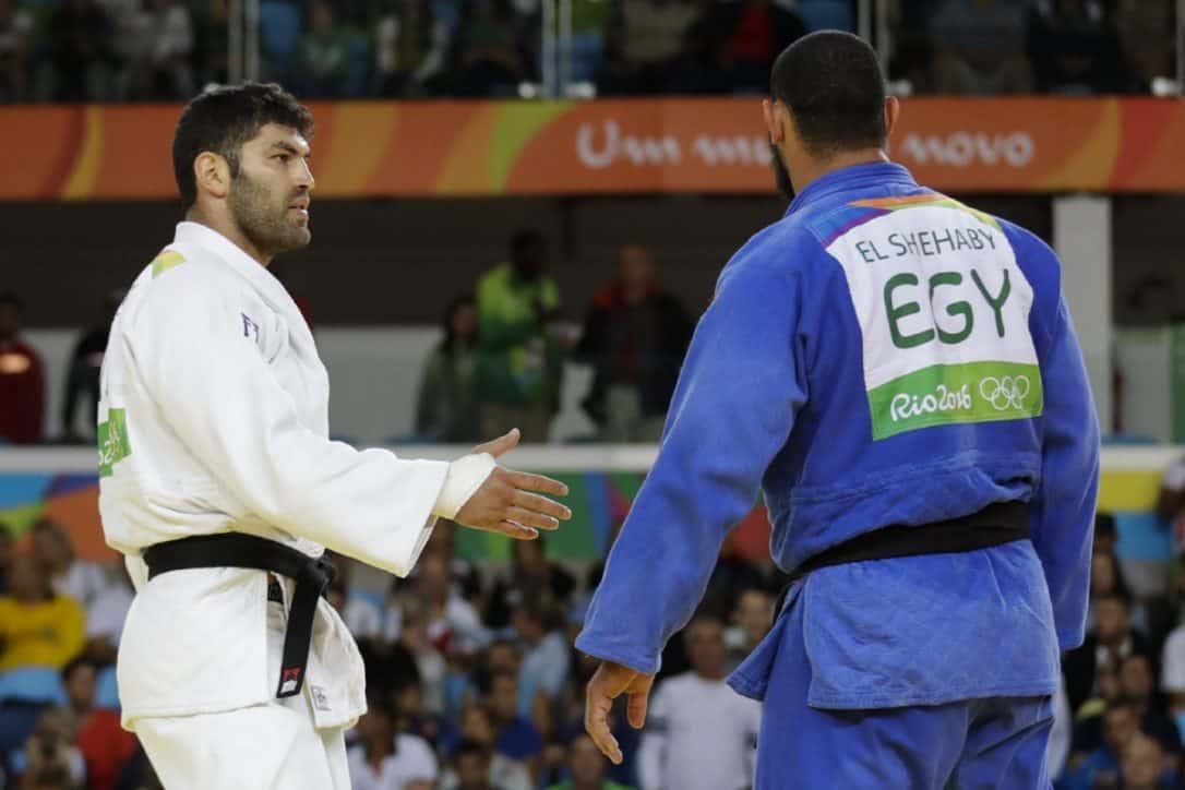 judo, egypt, israel, shake hands