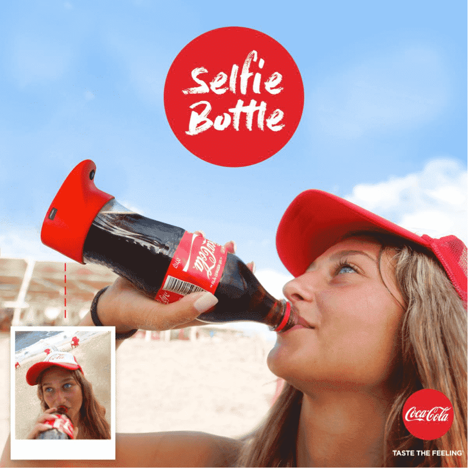 Coca-Cola Selfie Bottle Party in Israel Goes Viral