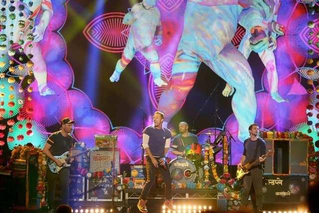 Coldplay in UAE, Coldplay Abu Dhabi, New Year's Eve