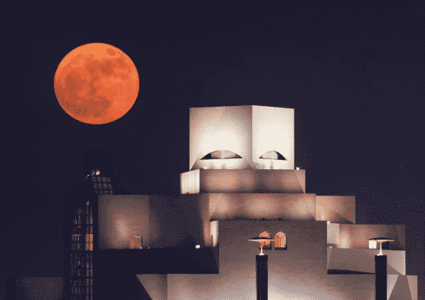 Qatar, Supermoon, Islamic