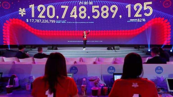 alibaba $17.8 billion sales