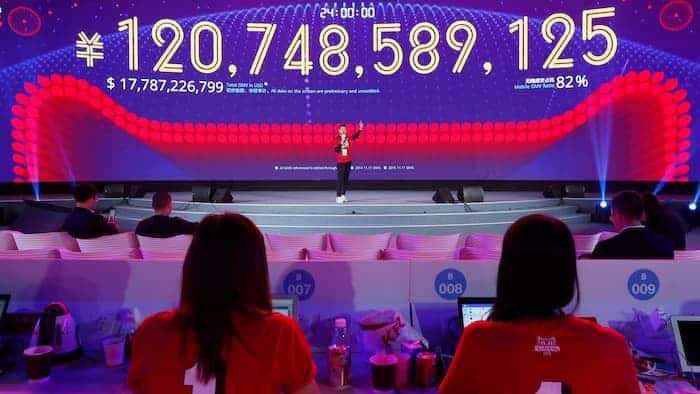 alibaba $17.8 billion sales