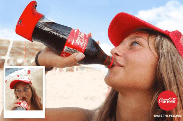 Coca-Cola Selfie Bottle Party in Israel Goes Viral