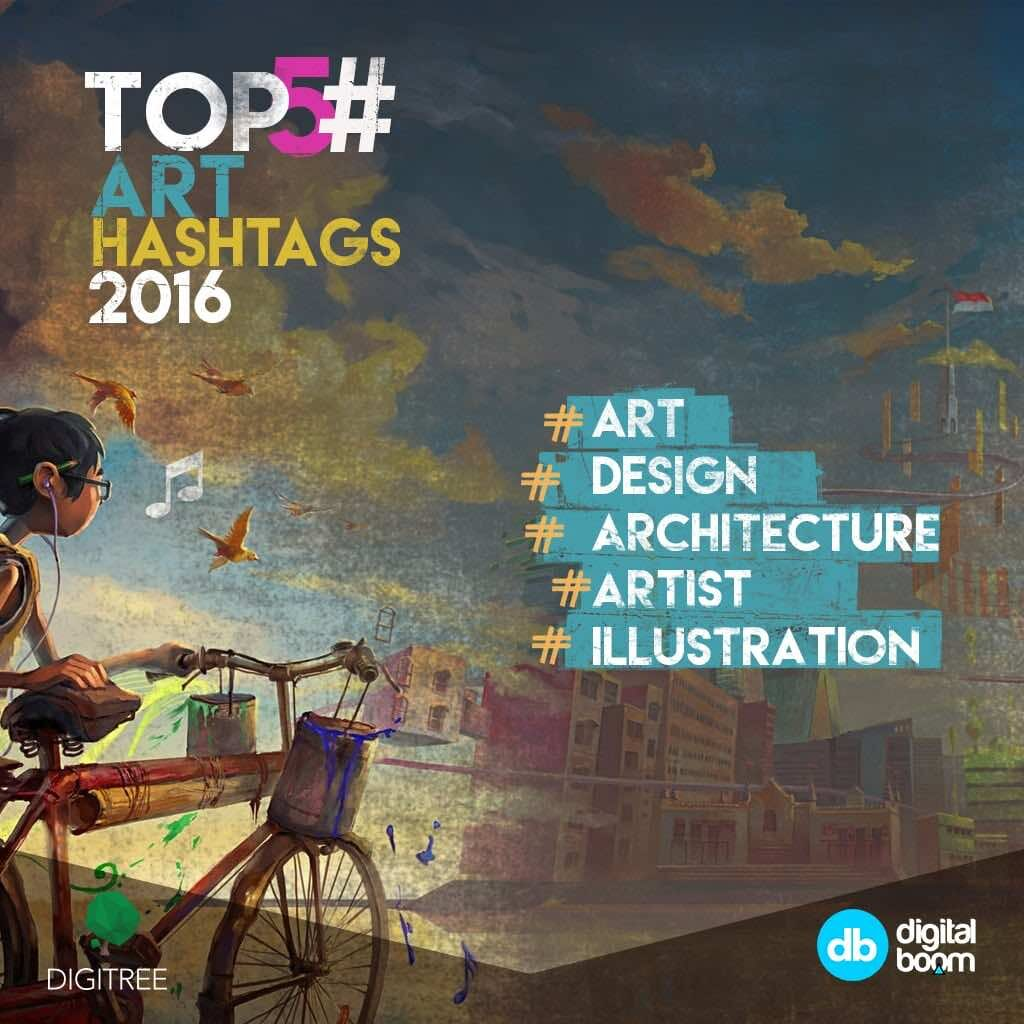 art hashtags, photography, instagram, 2016 data, reports, stats, statistics, digital boom