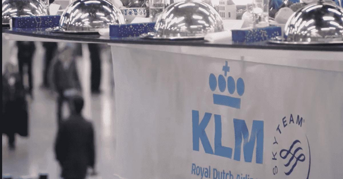 KLM Christmas ad, viral