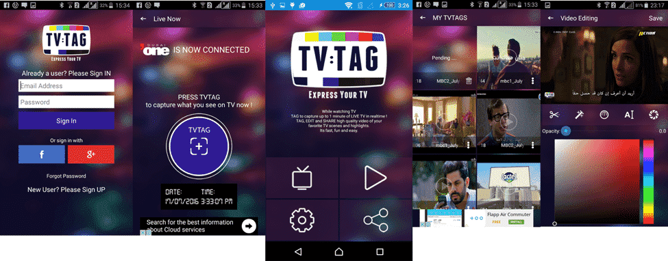 TVTAG APP, TETHER, TVTAG mobile apps, ITAGIT Technologies, mobile media