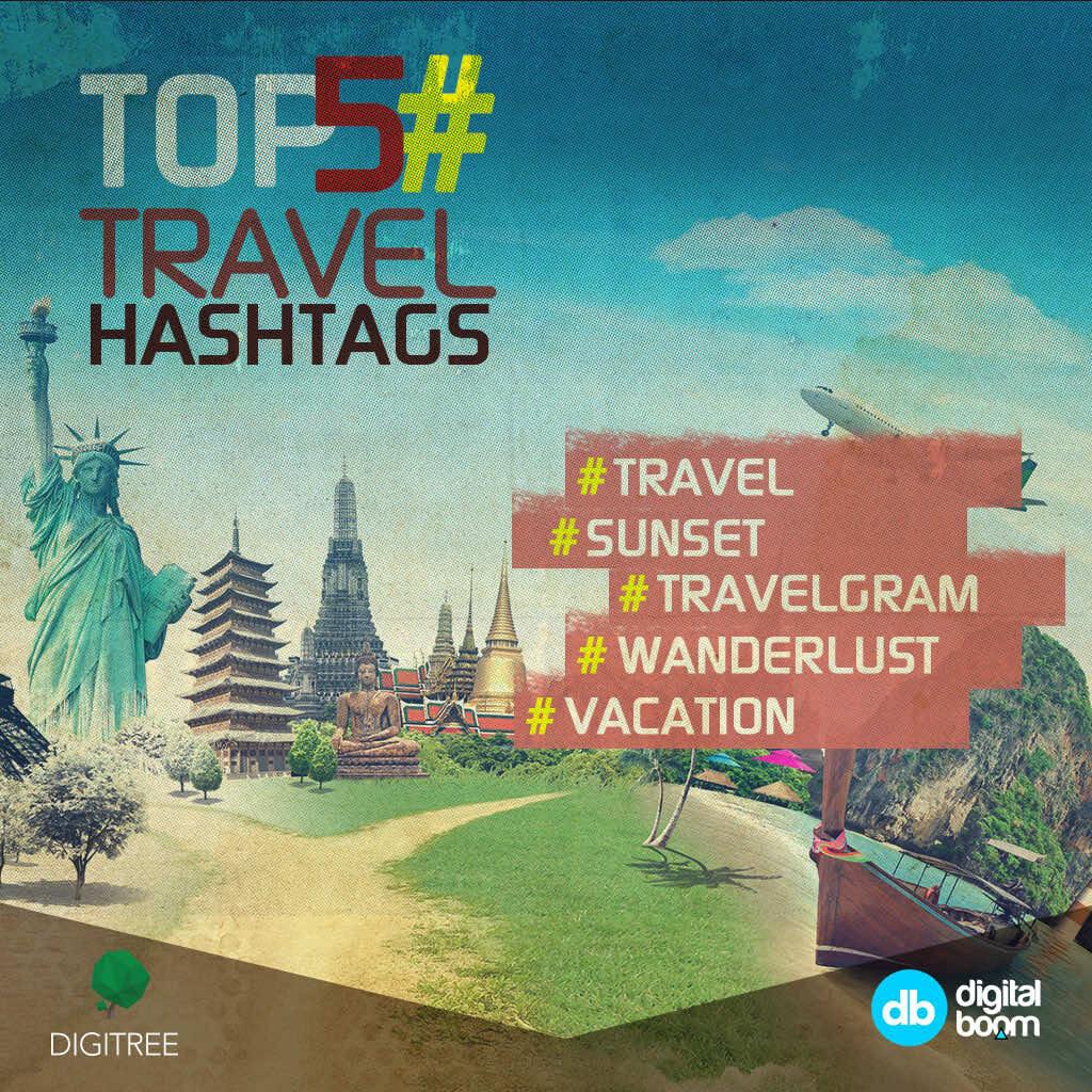 Instagram Reveals 2016's Top Data, travel hashtags, instagram, 2016 data, reports, stats, statistics, digital boom