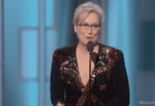 Meryl Streep, Meryl Streep fires up Golden Globes with anti-Trump message