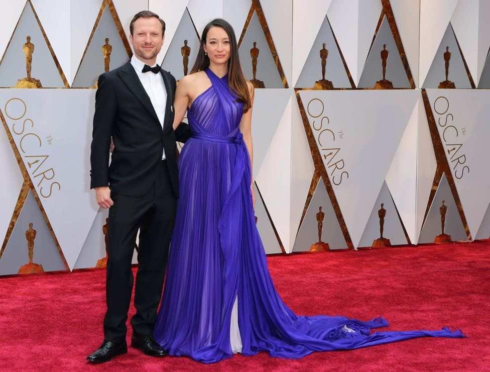 Director Orlando Von Einsiedel and producer Joanna Natasegara