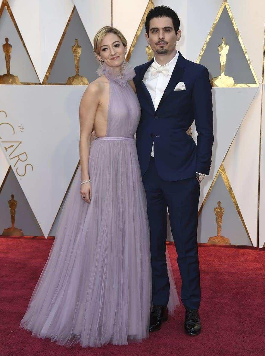 La La Land director Damien Chazelle and writer Olivia Hamilton