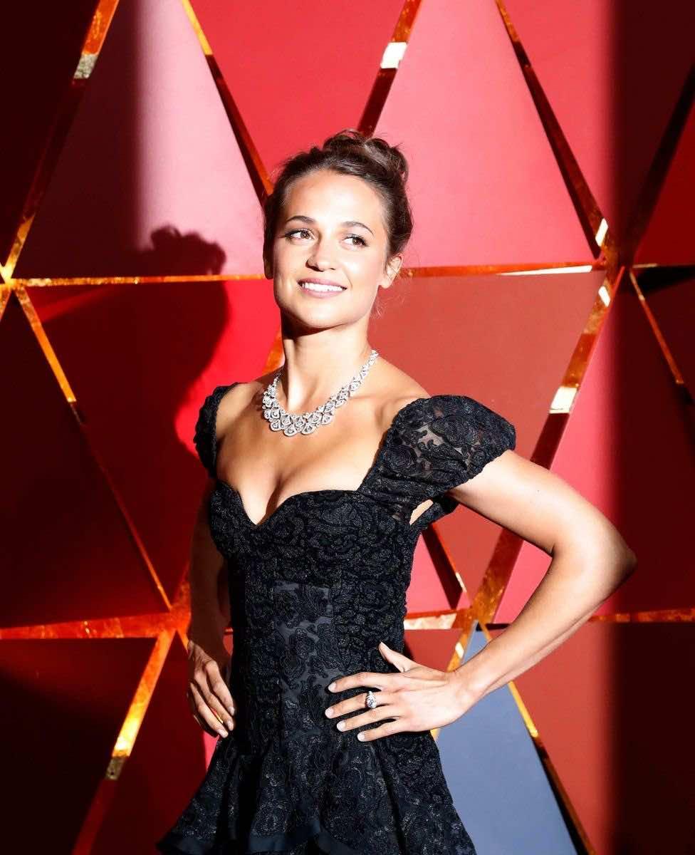 Swedish actress Alicia Vikander